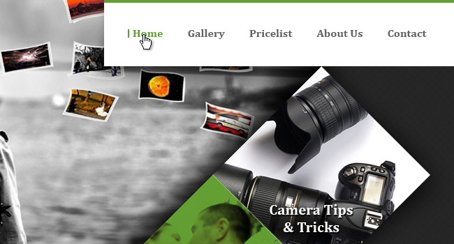 Photography Website Design
